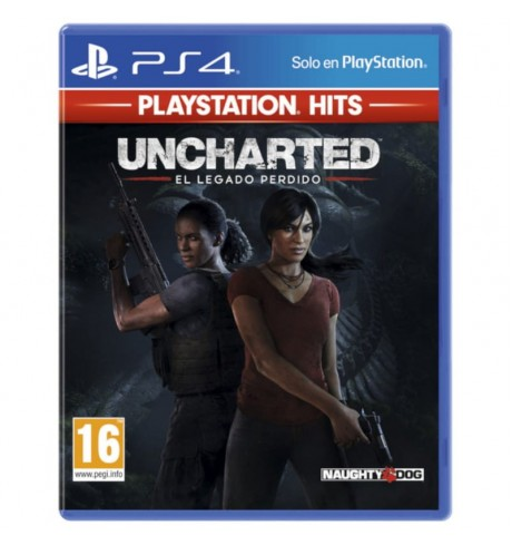 Uncharted PS4 game The Lost Legacy HITS